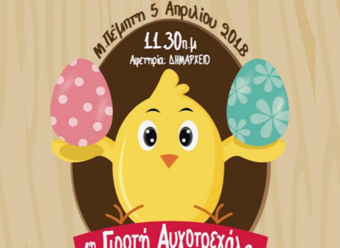 «Φέτος τα αυγά δεν τα βάφουμε στη Μύκονο… αλλά τα κυνηγάμε»!