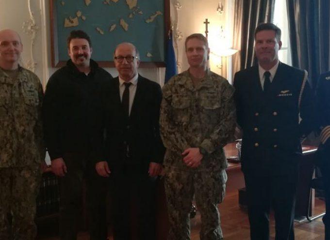 Εθιμοτυπική επίσκεψη Αμερικανών αξιωματούχων στην Περιφέρεια Νοτίου Αιγαίου