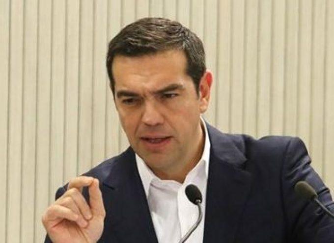 Ο Πρωθυπουργός Αλέξης Τσίπρας από τη Λήμνο