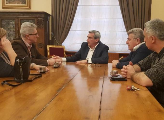 Με τον πρόεδρο του ΕΚΑΒ συναντήθηκε ο Γ. Χατζημάρκος