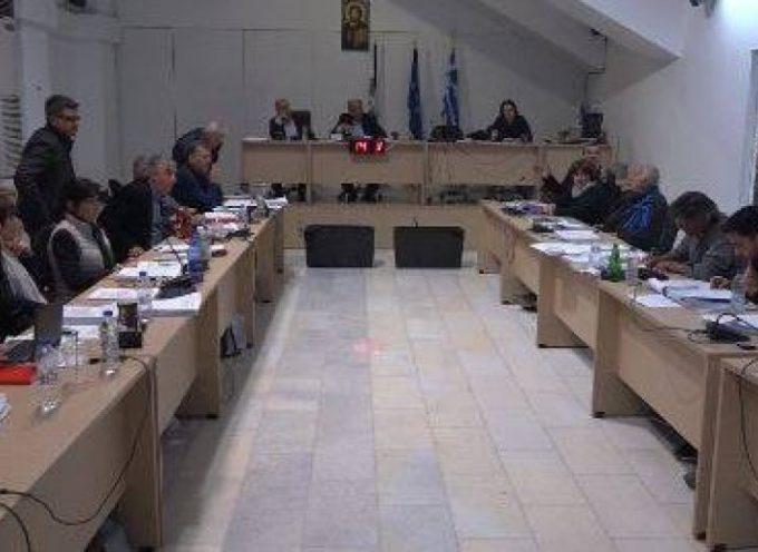 Έκδοση ψηφίσματος για το θέμα της υγείας και της λειτουργίας του Γ.Ν.Θ κατά τη διάρκεια της συνεδρίασης του Δ.Σ
