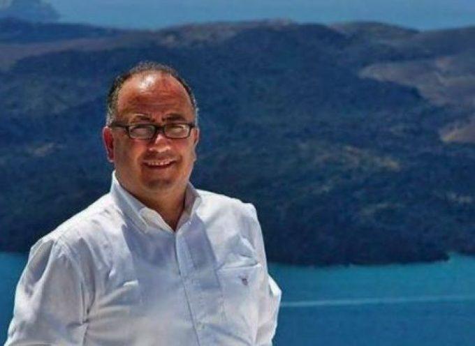 Ο δήμαρχος Σαντορίνης μιλά στο ΑΠΕ ΜΠΕ για το όραμα του αθλητικού τουρισμού