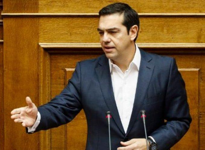 Ομιλία του Πρωθυπουργού, Αλέξη Τσίπρα στη Βουλή για την 8η Μάρτη