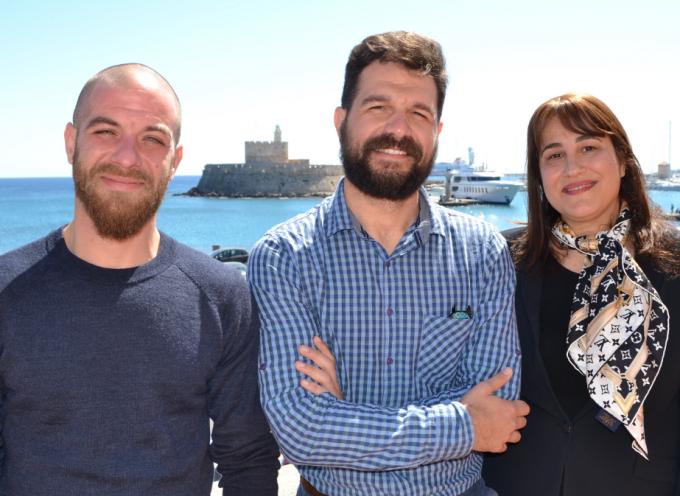 Με με τον Sales & Marketing Manager της Ryanair για την Ανατολική Μεσόγειο συναντήθηκε η Μαριέτα Παπαβασιλείου