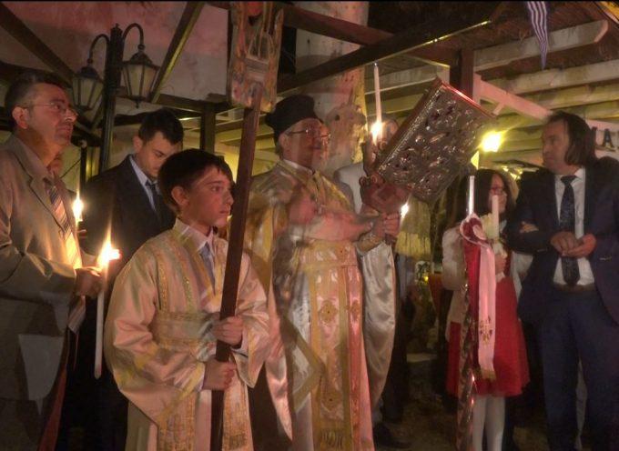 ΒΙΝΤΕΟ: Ανάσταση στο Μεγαλοχώρι Σαντορίνης 2018