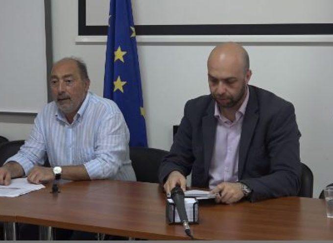 Συνέντευξη τύπου του υπεύθυνου για την διεξαγωγή των Αναπτυξιακών συνεδρίων κ. Βουλγαράκη