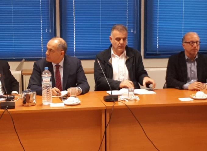 Σύσκεψη αυτοδιοικητικών φορέων του Νοτίου – Βορείου Αιγαίου και Ιονίων Νήσων στο Υπουργείο Ναυτιλίας και Νησιωτικής Πολιτικής  για το μεταφορικό ισοδύναμο