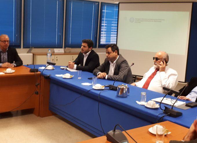 Σύσκεψη αυτοδιοικητικών φορέων του Νοτίου – Βορείου Αιγαίου και Ιονίων Νήσων στο Υπουργείο Ναυτιλίας και Νησιωτικής Πολιτικής  για το μεταφορικό ισοδύναμο.
