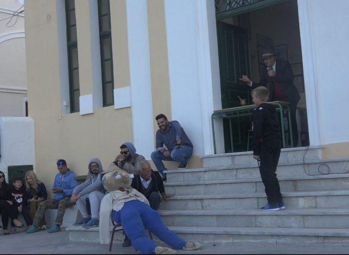 ΒΙΝΤΕΟ: Το έθιμο της δίκης του Ιούδα στο Ακρωτήρι