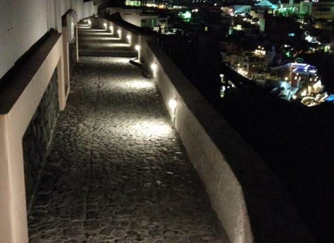 Κατασκευή και βελτίωση του Δημοτικού φωτισμού- Ανακοίνωση Δήμου Θήρας
