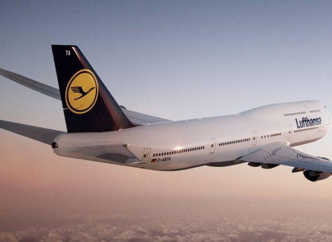 Νέο δρομολόγιο της  Lufthansa στη Σαντορίνη