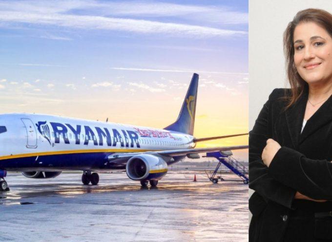 Η επιστροφή της RYANAIR στην Κω είναι γεγονός. Οι επαφές της Αντιπεριφερειάρχη Τουρισμού με την Ryanair απέδωσαν