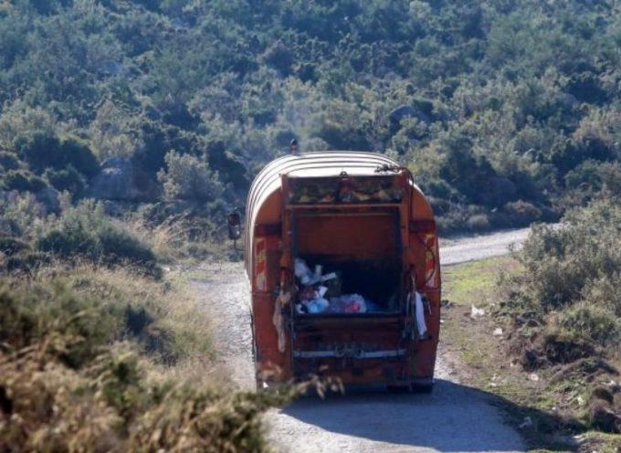 Τραγωδία στην Τήνο με δύο νεκρούς – Απορριματοφόρο έπεσε σε γκρεμό 100 μέτρων
