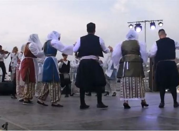 BINTEO: Ο Πολιτιστικός & Αθλητικός Σύλλογος Ακρωτηρίου στο φεστιβάλ Μυκόνου