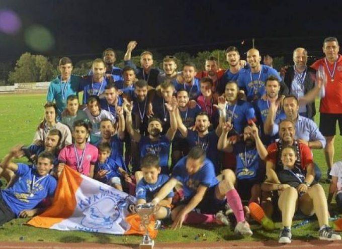 Γιορτάζει η Θύελλα την άνοδό της στην Γ΄Εθνική
