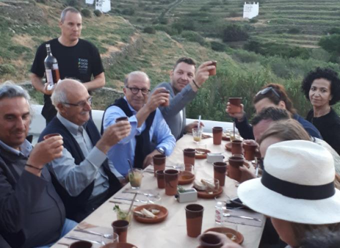 Στη γιορτή γαστρονομίας «Tinos Food Paths» ο Αντιπεριφερειάρχης Κυκλάδων Γιώργος Λεονταρίτης