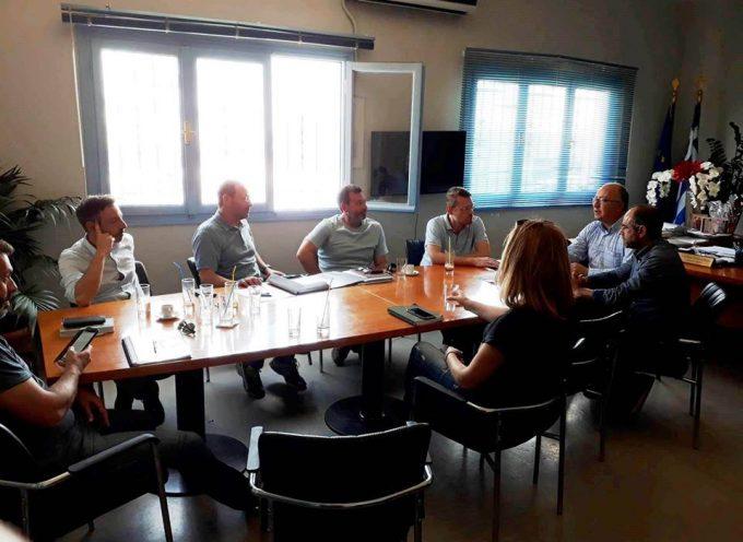 Πιέζει ο Δήμος να ολοκληρωθεί ο νέος δρόμος Αεροδρομίου-Οίας