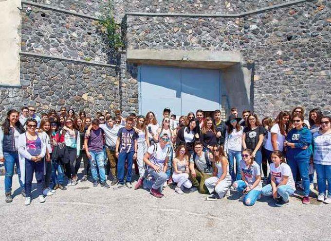 Επίσκεψη της περιβαλλοντικής ομάδας του 1ου Γυμνασίου Αγ. Νικολάου στη Σαντορίνη