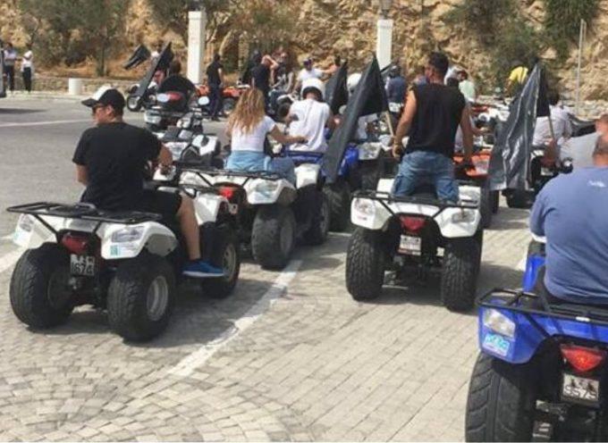 Συγκέντρωση διαμαρτυρίας με «γουρούνες» στο λιμάνι του Αθηνιού αύριο Δευτέρα ,αντίστοιχη διαμαρτυρία έγινε και στη Μύκονο