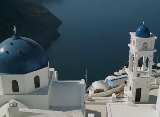 Σαντορίνη: Η μαγεία από drone – Οι εικόνες που διαφημίζουν τον κορυφαίο τουριστικό προορισμό