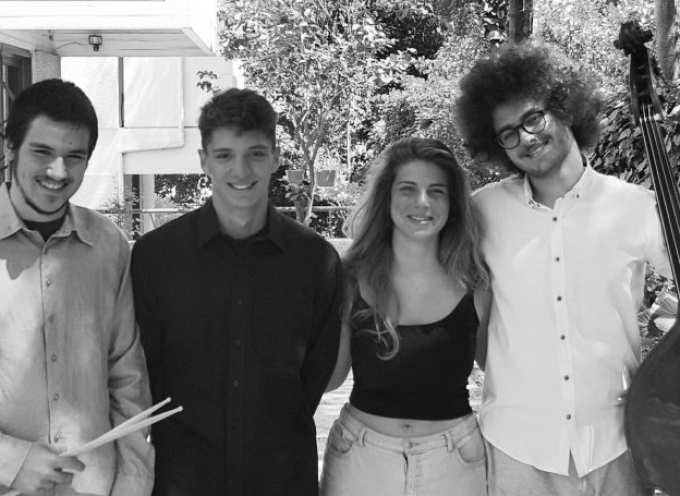 Συναυλία με τους Poinciana Quartet στο Μέγαρο Γκύζη