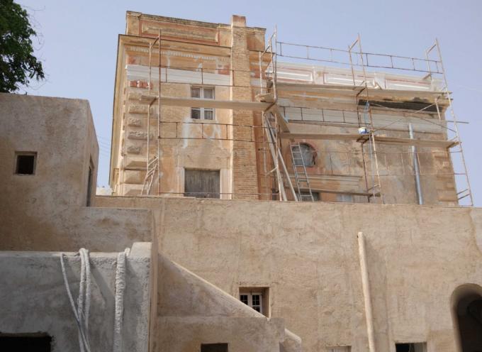 Αποκατάσταση και ανάδειξη κτηρίου πρώην κοινοτικού καταστήματος Έξω Γωνιάς Δήμου Θήρας