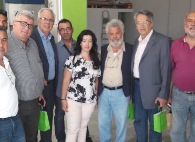Στη Νάξο, για το 15ο Περιφερειακό Συνέδριο Παραγωγικής Ανασυγκρότησης Κυκλάδων ο Φιλήμονας Ζαννετίδης