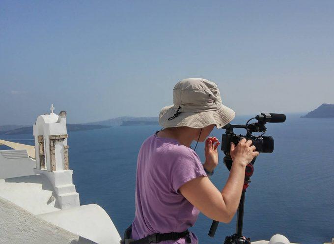 Φιλοξενία από το Δήμο Θήρας ταξιδιωτικής τηλεοπτικής εκπομπής από την Ιταλία