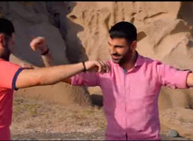 Αδέρφια γύρισαν νέο video clip στην Σαντορίνη (φωτό/video)