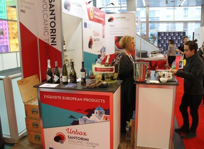 «Μαγνήτης» τα προϊόντα της Santo Wines για τους Καναδούς.