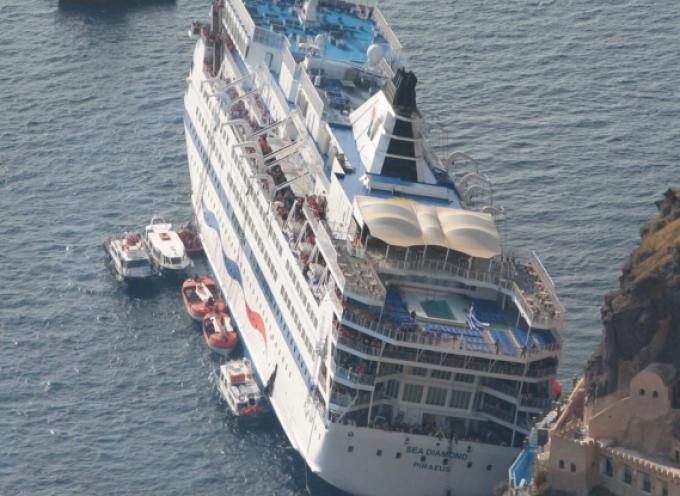 Αναφορά για την ανέλκυση του Sea Diamond κατέθεσαν Βουλευτές του ΚΚΕ