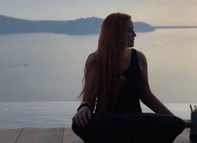 Σίσσυ Χρηστίδου: Απόδραση με τον Θοδωρή Μαραντίνη στη Σαντορίνη! [pics