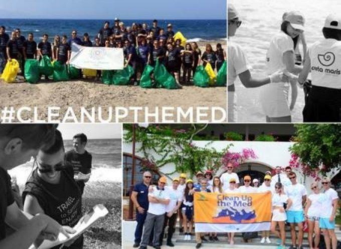 Τα Maris Hotels στην πρώτη γραμμή της καμπάνιας «Clean up the MED» Καθαρισμός δύο παραλιών στην Κρήτη και μιας στη Σαντορίνη!