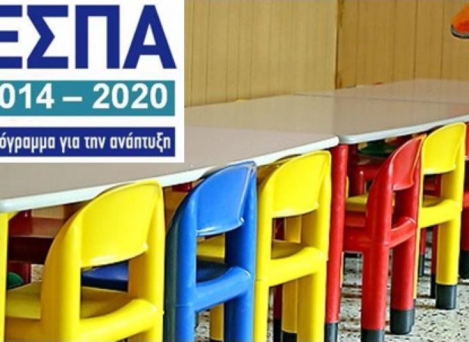 Νότιο Αιγαίο: 2,09 εκατ. ευρώ, από το Επιχειρησιακό Πρόγραμμα «Νότιο Αιγαίο 2014-2020» για πρόσβαση (voucher) 800 παιδιών σε παιδικούς – βρεφονηπιακούς σταθμούς και ΚΔΑΠ