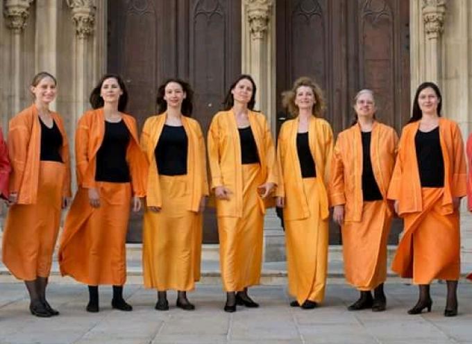 Συναυλία με το φωνητικό σύνολο γρηγοριανού μέλους Schola Resupina στο Μπελλώνειο Πολιτιστικό Κέντρο