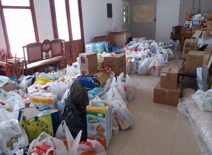 Ανακοίνωση του Δήμου Θήρας: έκκληση για είδη πρώτης ανάγκης