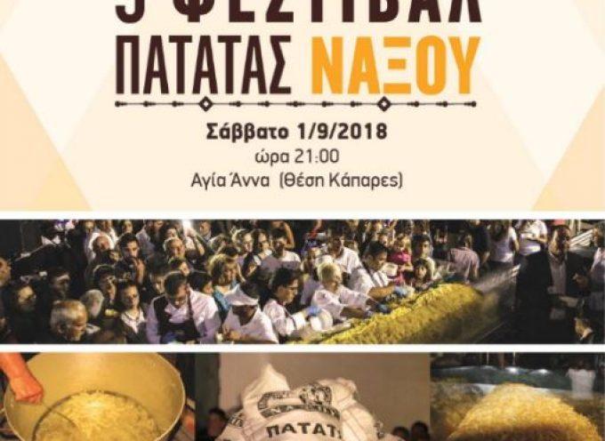 ΕΑΣ Νάξου: Σπάμε» το «φράγμα» των 600 κιλών! Εξακόσια κιλά τηγανητές πατάτες σερβιρισμένες σε μία γιγαντιαία μερίδα!