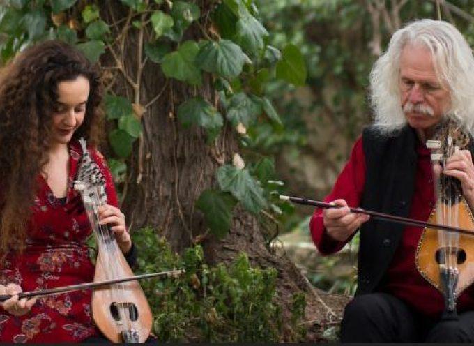 Συναυλία με τον Ross Daly και την Κέλυ Θωμά στο Μέγαρο Γκύζη