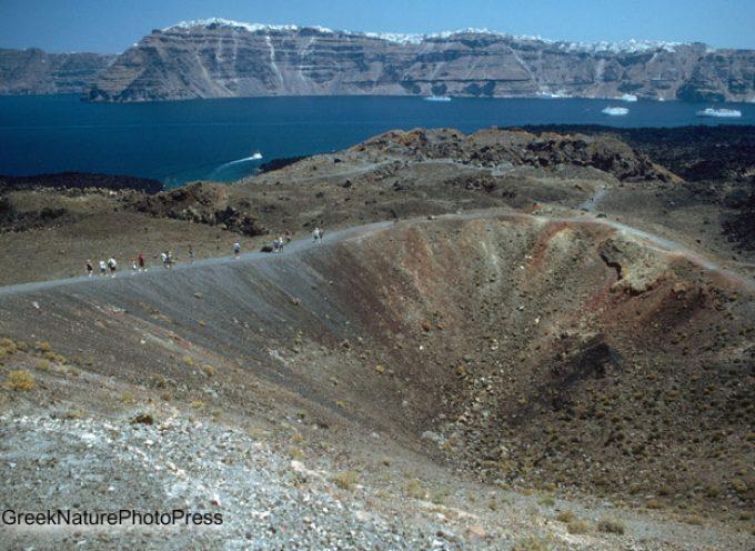 Νέα μελέτη ρίχνει φως στην προϊστορική έκρηξη του ηφαιστείου στη Σαντορίνη
