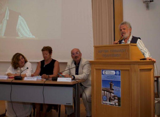 Ο Βουλευτής Κυκλάδων ΣΥ.ΡΙΖ.Α., κ. Ν. Μανιός στο 30ο Συνέδριο Κοινωνικής Παιδιατρικής στη Τήνο