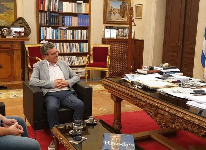 Συνεργασία του Περιφερειάρχη με τον βουλευτή Ηλία Καματερό, για υδατοδρόμια, υποστελέχωση ΟΤΑ και ΕΤΑΙΠΡΟΦΥΚΑ