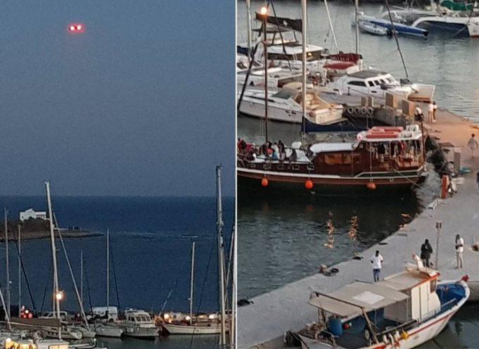 Με drone έκανε τσακωτούς η ΑΑΔΕ ιδιοκτήτες σκαφών που δεν έκοβαν αποδείξεις στη Σαντορίνη