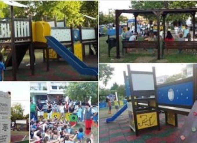 Η πρώην Έπαρχος Θήρας κ. Λειβαδάρου για την αδυναμία του Δήμου να επισκευάσει τις παιδικές χαρές