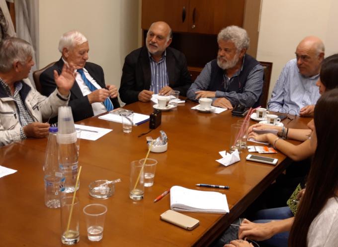 Συνάντηση των βουλευτών Κυκλάδων με εκπροσώπους φορέων της Νάξου και της ΕΚΥΤ