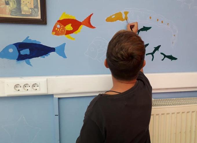 «Στο βυθό της μάθησης» κολύμπησαν οι καλλιτέχνες του Δημοτικού Σχολείου Ακρωτηρίου