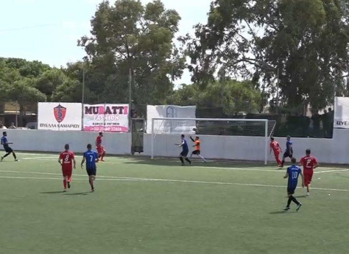 ΒΙΝΤΕΟ: Ιστορική νίκη της Θύελλας Καμαρίου , νίκησε με 3-1  τον Χαραυγιακό