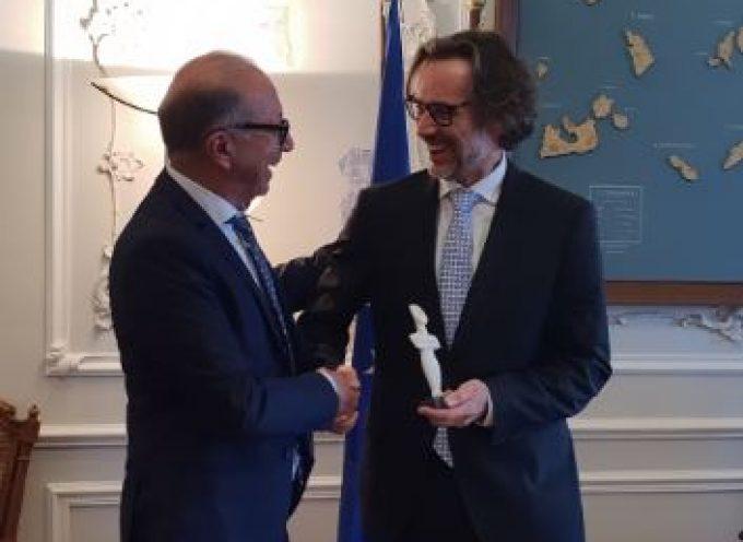 Με τον Πρέσβη της Ομοσπονδιακής Δημοκρατίας της Γερμανίας στην Ελλάδα συναντήθηκε ο Γ. Λεονταρίτης