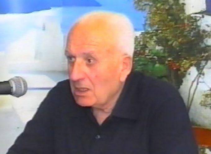 Ο κ. Αντώνης Σιγάλας για την απώλεια του Ιάκωβου Κορωνιού