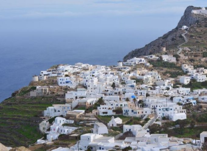 Η Περιφέρεια Νοτίου Αιγαίου χρηματοδοτεί τη διαπλάτυνση της οδού Χώρα – Μοναστήρι στη Σίκινο