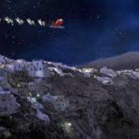 ΔΑΠΠΟΣ:Ο Άγιος Βασίλης έφτασε στη Σαντορίνη